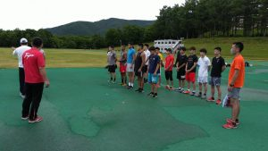 2020年07月男子ナショナル合宿(山形)