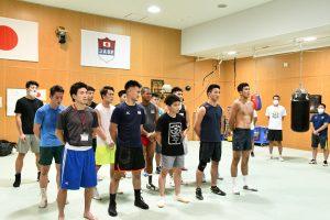 第2回男子ナショナル合宿(NTC)