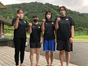 2020年07月女子ナショナル合宿(富山県)